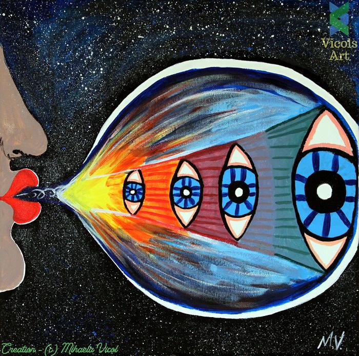 Creation - Mihaela Vicol - Acrylic Paint