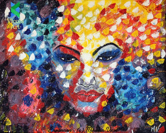 Expansion - Mihaela Vicol - Acrylic Paint