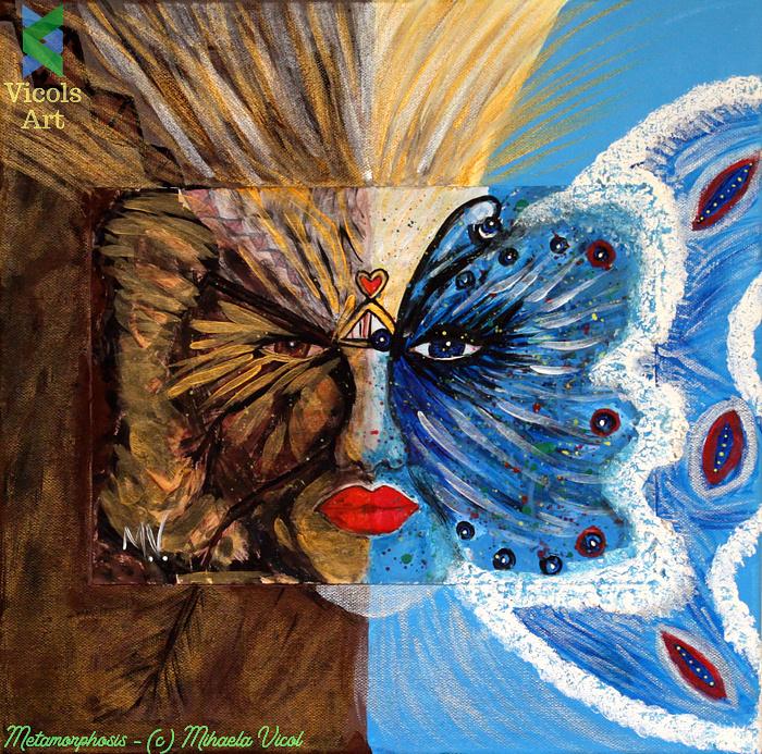 Metamorphosis - Miaela Vicol - Acrylic Paint