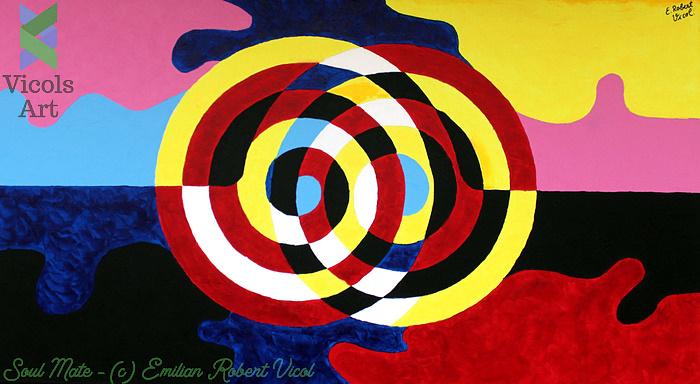 Soul Mate - Emilian Robert Vicol - Acrylic Paint
